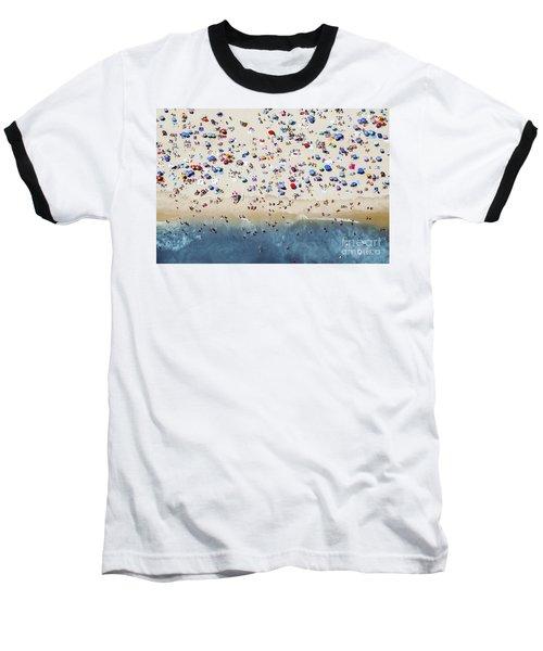 Island Beach State Park Baseball T-Shirt by Mike Raabe