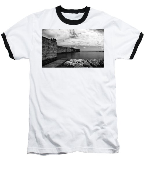 Island Fortress  Baseball T-Shirt