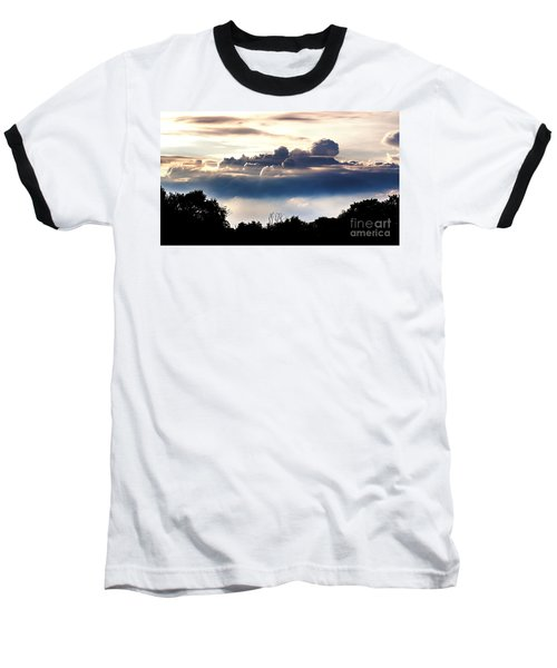 Island Of Clouds Baseball T-Shirt