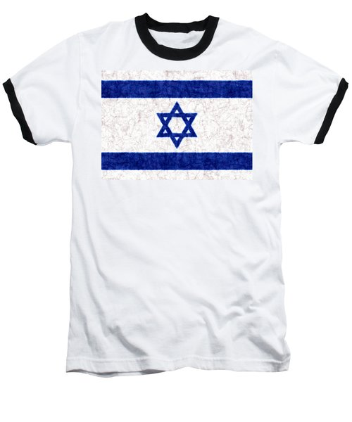 Israel Star Of David Flag Batik Baseball T-Shirt