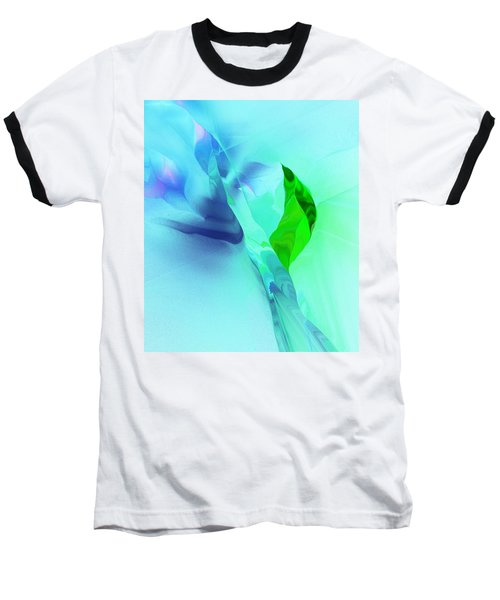 Baseball T-Shirt featuring the digital art It's A Mystery  by David Lane