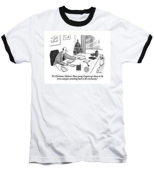 It's Christmas Baseball T-Shirt