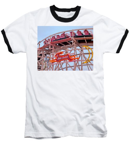 Jack Rabbit Coaster Kennywood Park Baseball T-Shirt