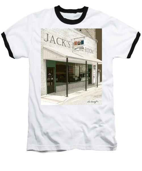 Jack's Pool Room Baseball T-Shirt