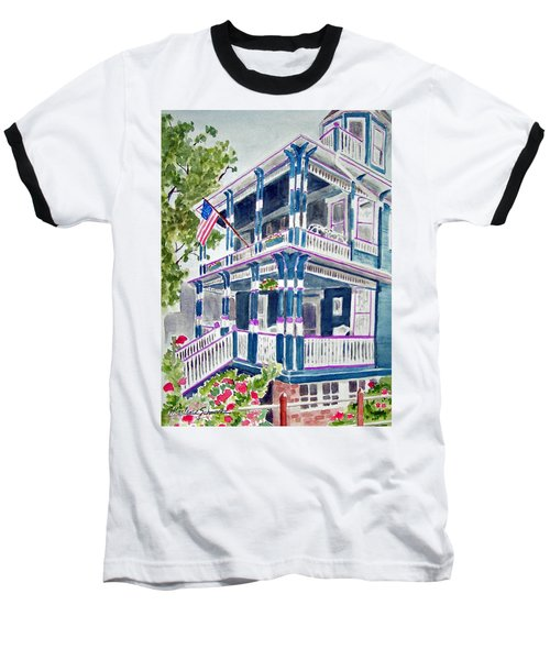 Jackson Street Inn Of Cape May Baseball T-Shirt