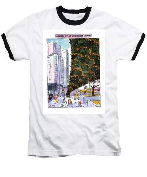 January 3rd At Rockefeller Center Baseball T-Shirt