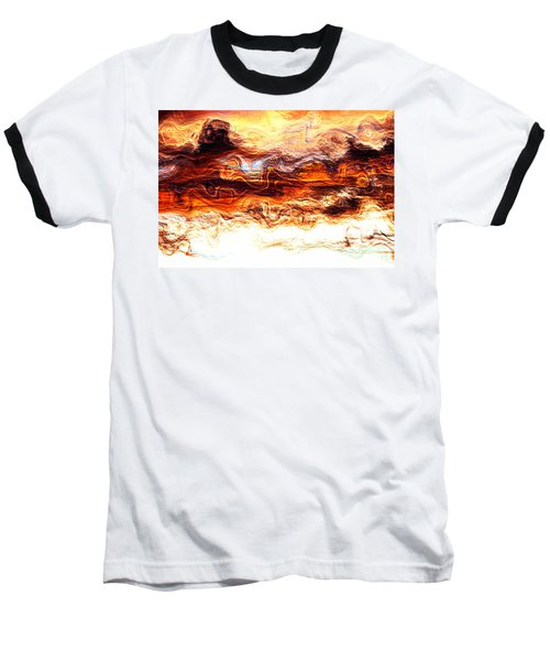 Jazz Baseball T-Shirt by Richard Thomas