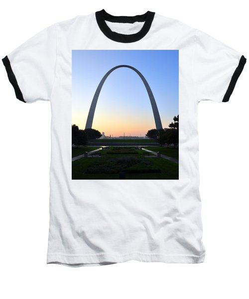 Jefferson National Expansion Memorial Baseball T-Shirt