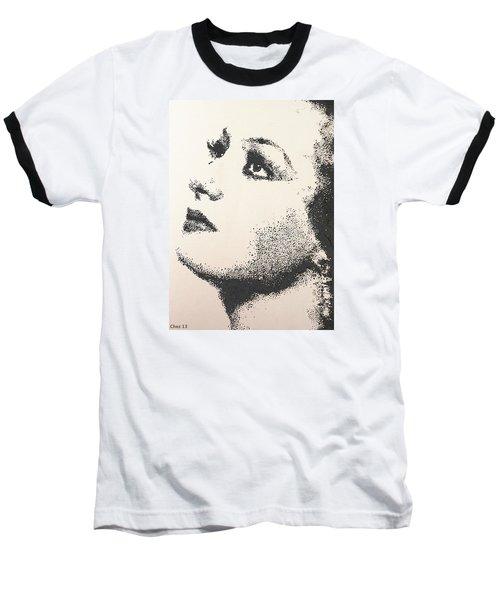 Joan Crawford Baseball T-Shirt
