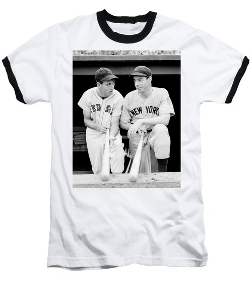 Joe Dimaggio And Ted Williams Baseball T-Shirt