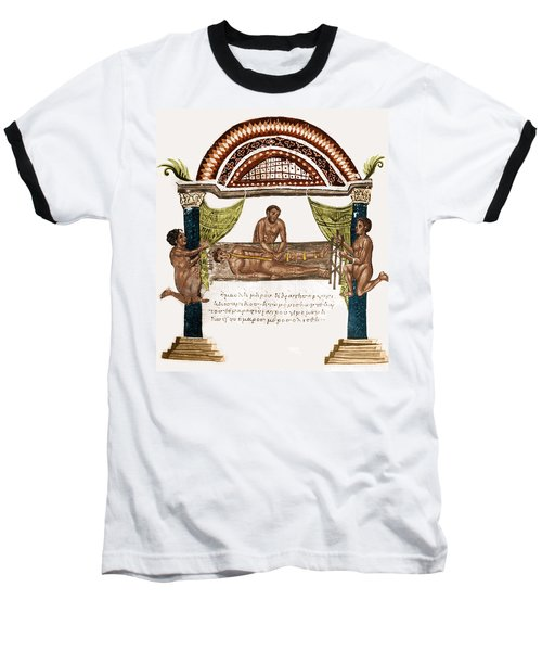 Baseball T-Shirt featuring the photograph Joint Dislocation Treatment, 1st by Science Source