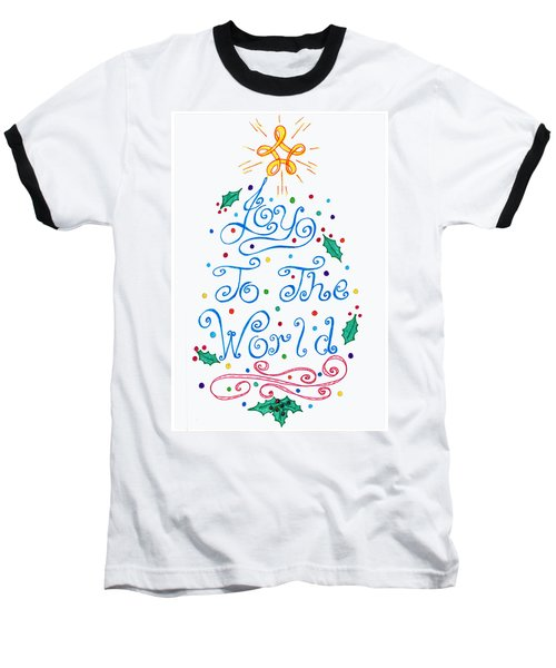 Joy To The World Baseball T-Shirt