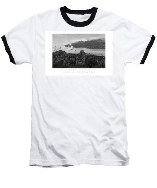 Juan Sebastian Elcano Arrival To The Port Of Ferrol Baseball T-Shirt