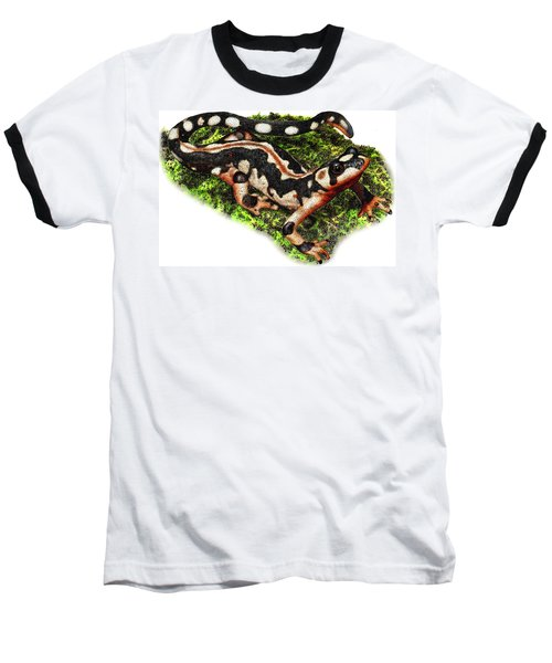 Kaisers Spotted Newt Baseball T-Shirt