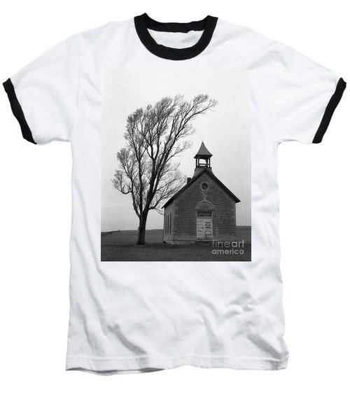 Kansas Schoolhouse Baseball T-Shirt