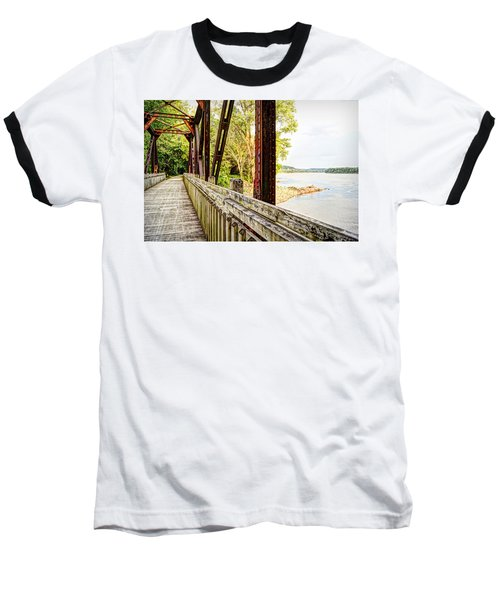 Katy Trail Near Coopers Landing Baseball T-Shirt