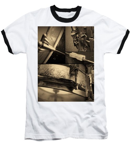Keeping Time Baseball T-Shirt by Photographic Arts And Design Studio