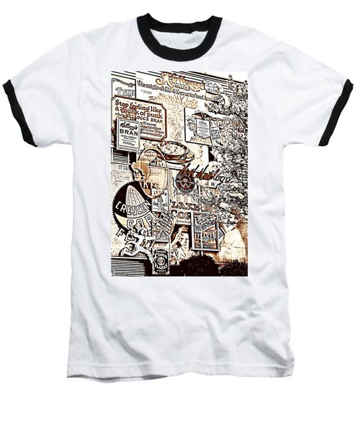 Kellogg's Wall Baseball T-Shirt by Sennie Pierson