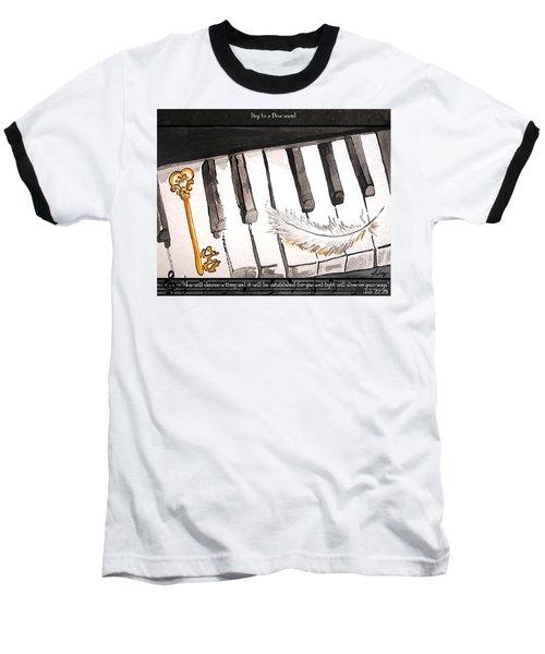 Key To A New Sound Baseball T-Shirt