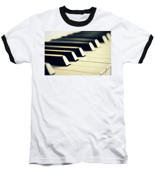 Keyboard Of A Piano Baseball T-Shirt