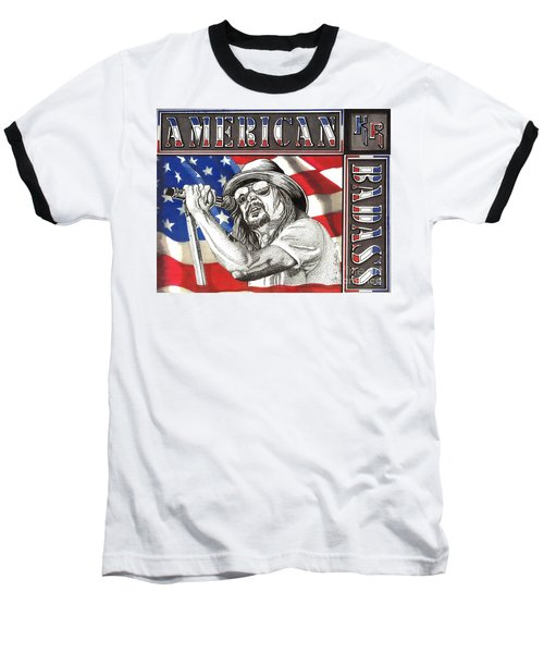 Kid Rock American Badass Baseball T-Shirt