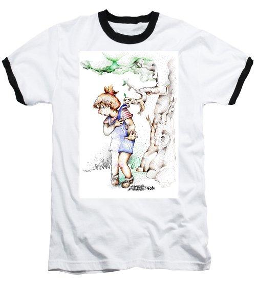 Trail Blazing Edition Kidnabbed 2 Foto Baseball T-Shirt
