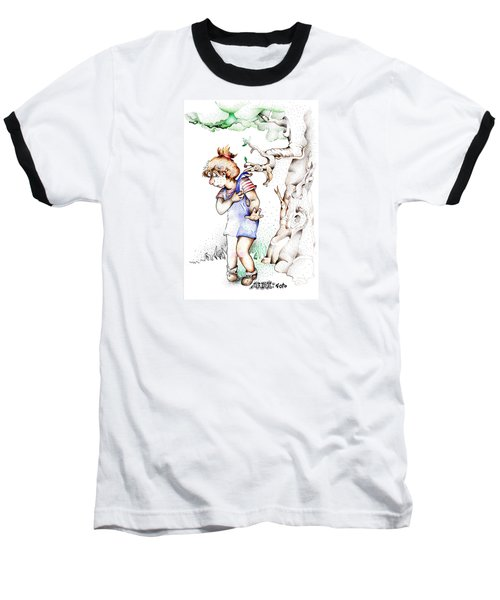 Trail Blazing Edition Kidnabbed 2 Foto Baseball T-Shirt