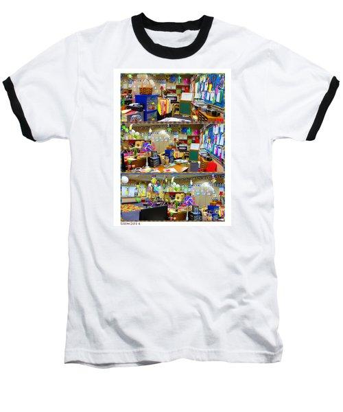Kindergarten Classroom Baseball T-Shirt by Tina M Wenger