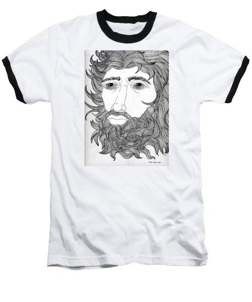 King David Baseball T-Shirt by Fred Jinkins