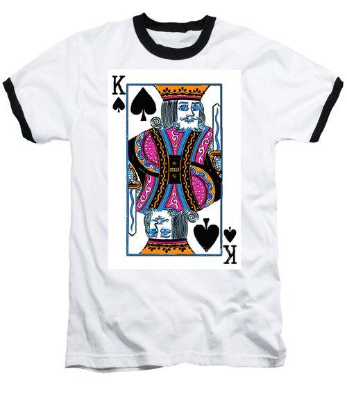 King Of Spades - V3 Baseball T-Shirt