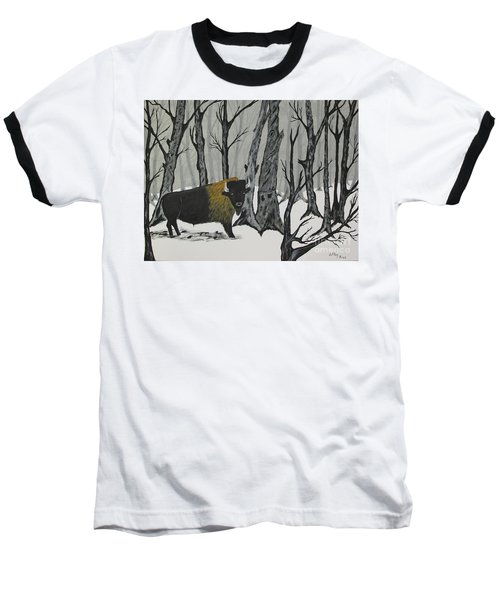 King Of The Woods Baseball T-Shirt