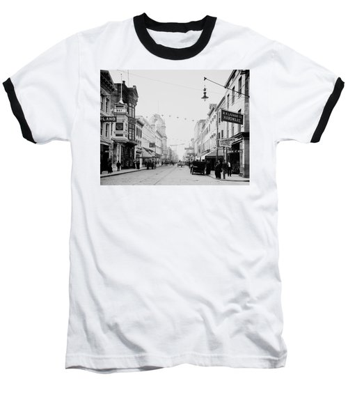 King Street In Charleston South Carolina Circa 1910 Baseball T-Shirt