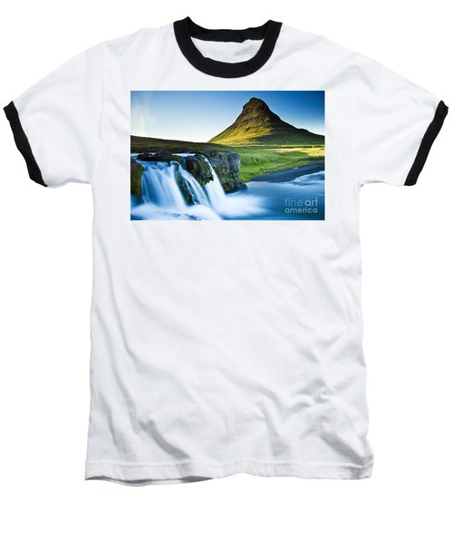Kirkjufell Mountain Baseball T-Shirt