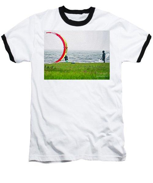 Kite Boarder Baseball T-Shirt