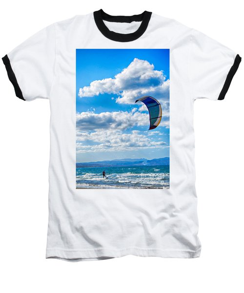 Kitesurfer Baseball T-Shirt