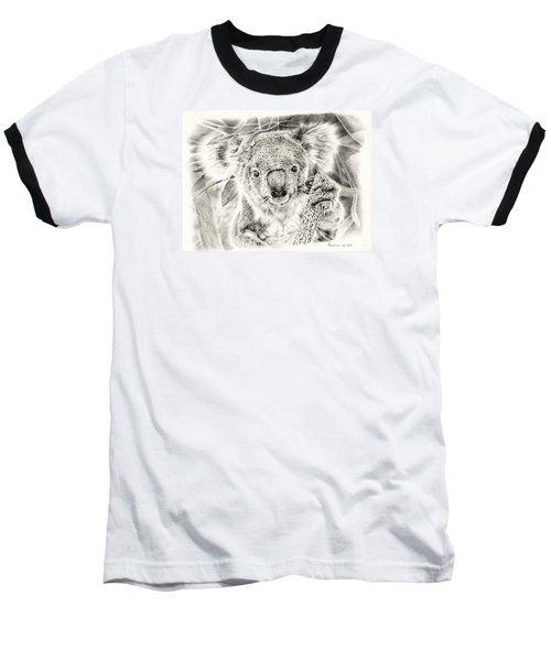 Koala Garage Girl Baseball T-Shirt