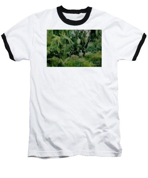 Kudzombies Baseball T-Shirt by Elizabeth Carr