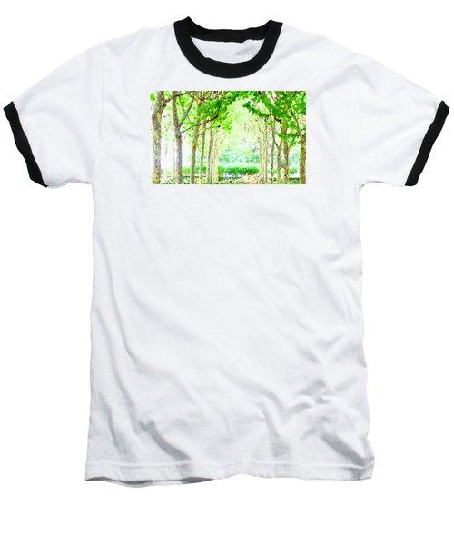 La Defense Platanuses Baseball T-Shirt by Oleg Zavarzin