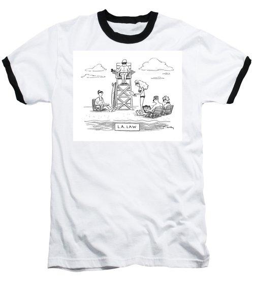 L.a. Law Baseball T-Shirt