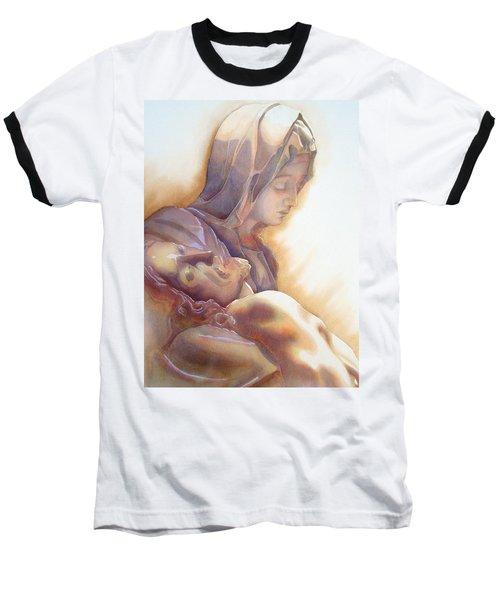 La Pieta By Michelangelo Baseball T-Shirt