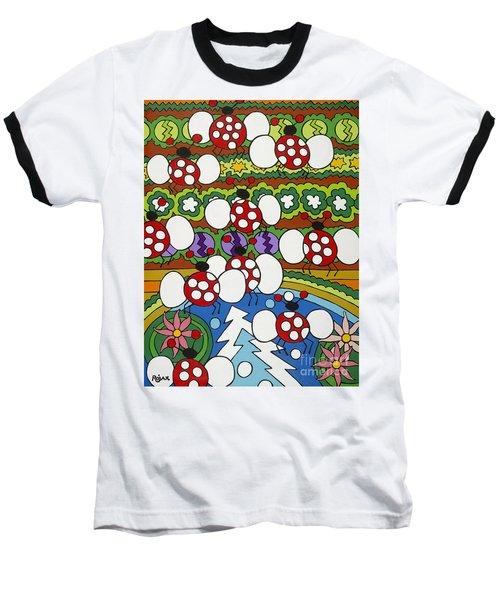 Lady Bugs Baseball T-Shirt