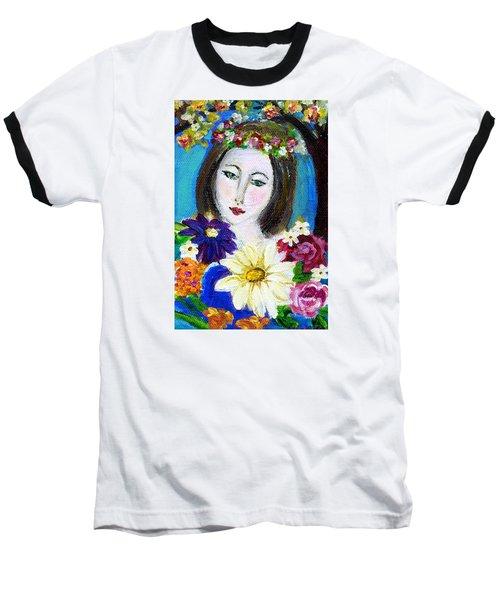 Lady Of Spring Baseball T-Shirt