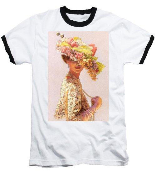Lady Victoria Victorian Elegance Baseball T-Shirt
