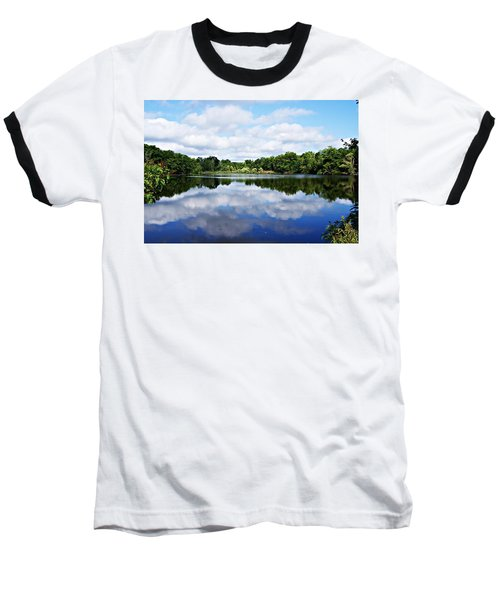 Lagoon IIi Baseball T-Shirt by Joe Faherty