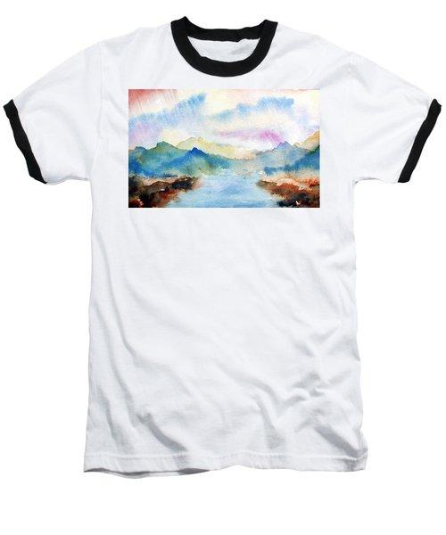 Lake Chuzenji Nikko Baseball T-Shirt