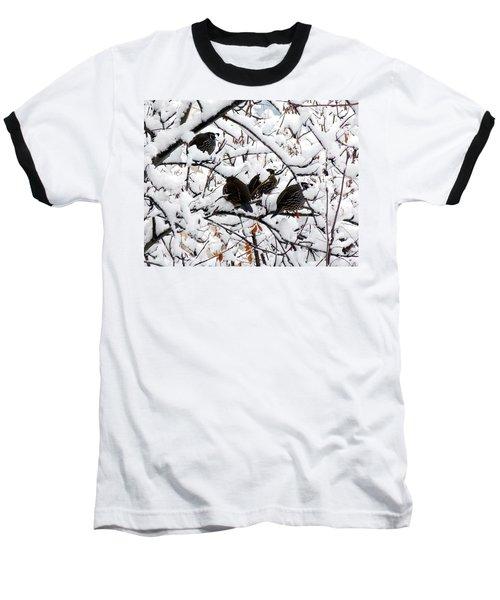 Lake Country Quail Baseball T-Shirt