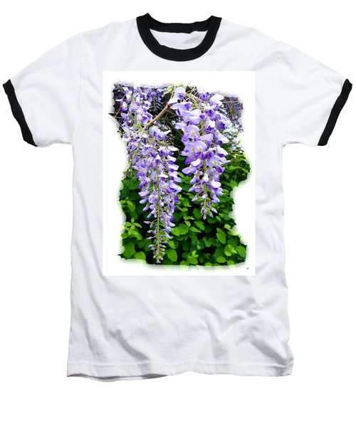 Lake Country Wisteria Baseball T-Shirt by Will Borden