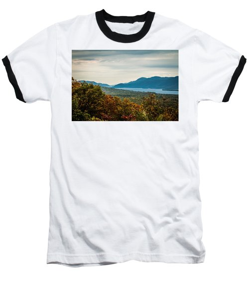 Lake George Baseball T-Shirt by Sara Frank