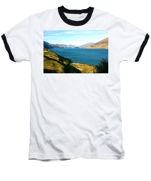 Lake Hawea Baseball T-Shirt by Stuart Litoff