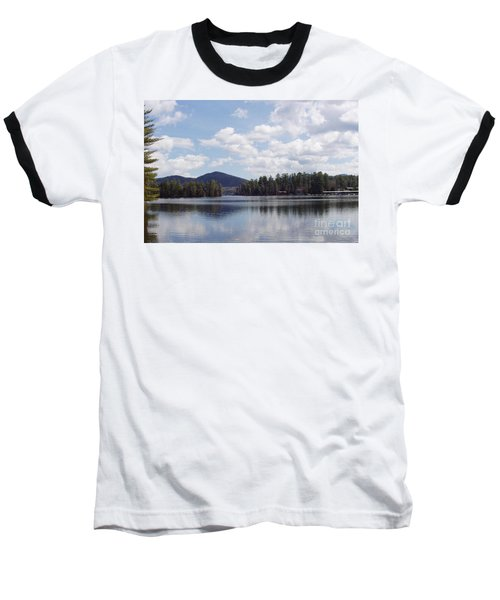 Baseball T-Shirt featuring the photograph Lake Placid by John Telfer